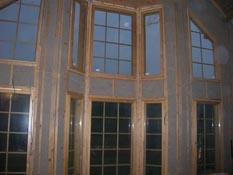 Утепление Эковатой стен каркасного деревянного дома